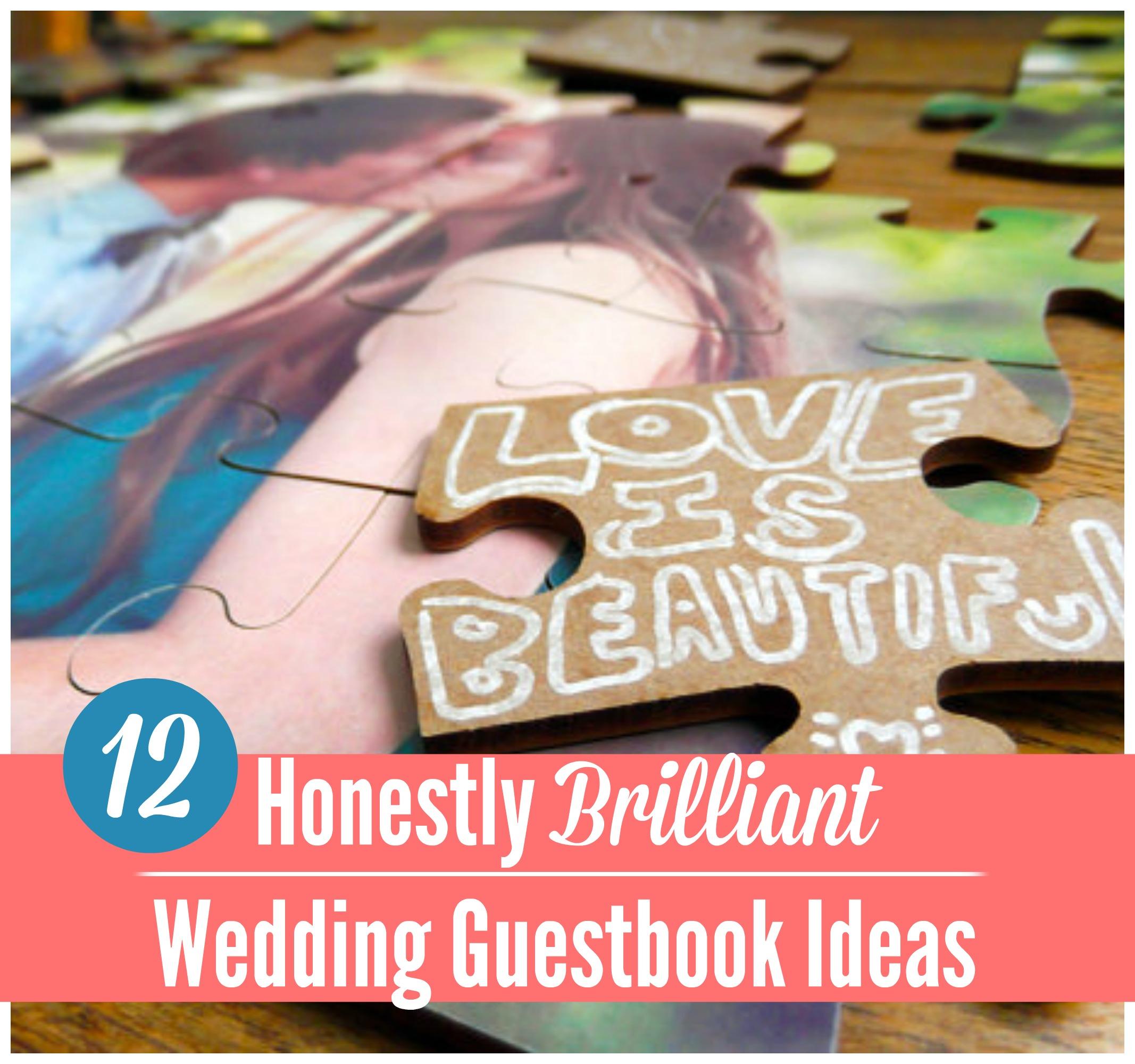 15 Insanely Unique Wedding Guest Book Ideas - Craft Paper Scissors