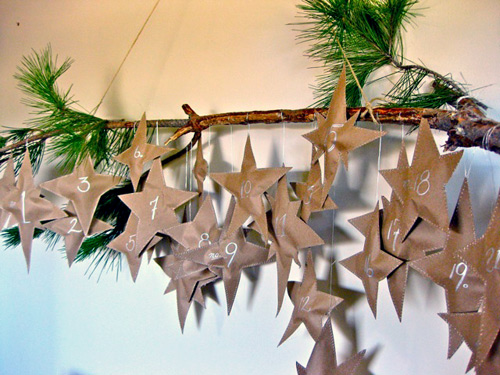 Rustic-Star-Advent-Calendar
