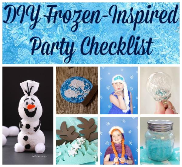 plan the best diy frozen party ever craft paper scissors