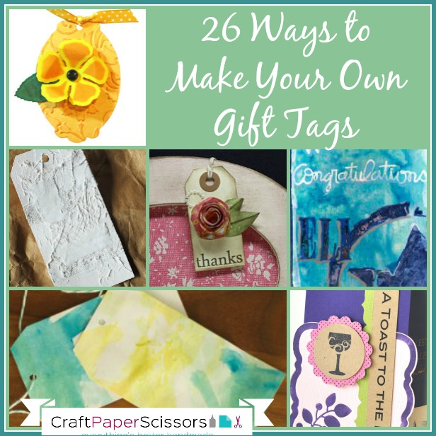 26 Ways to Make Your Own Gift Tags