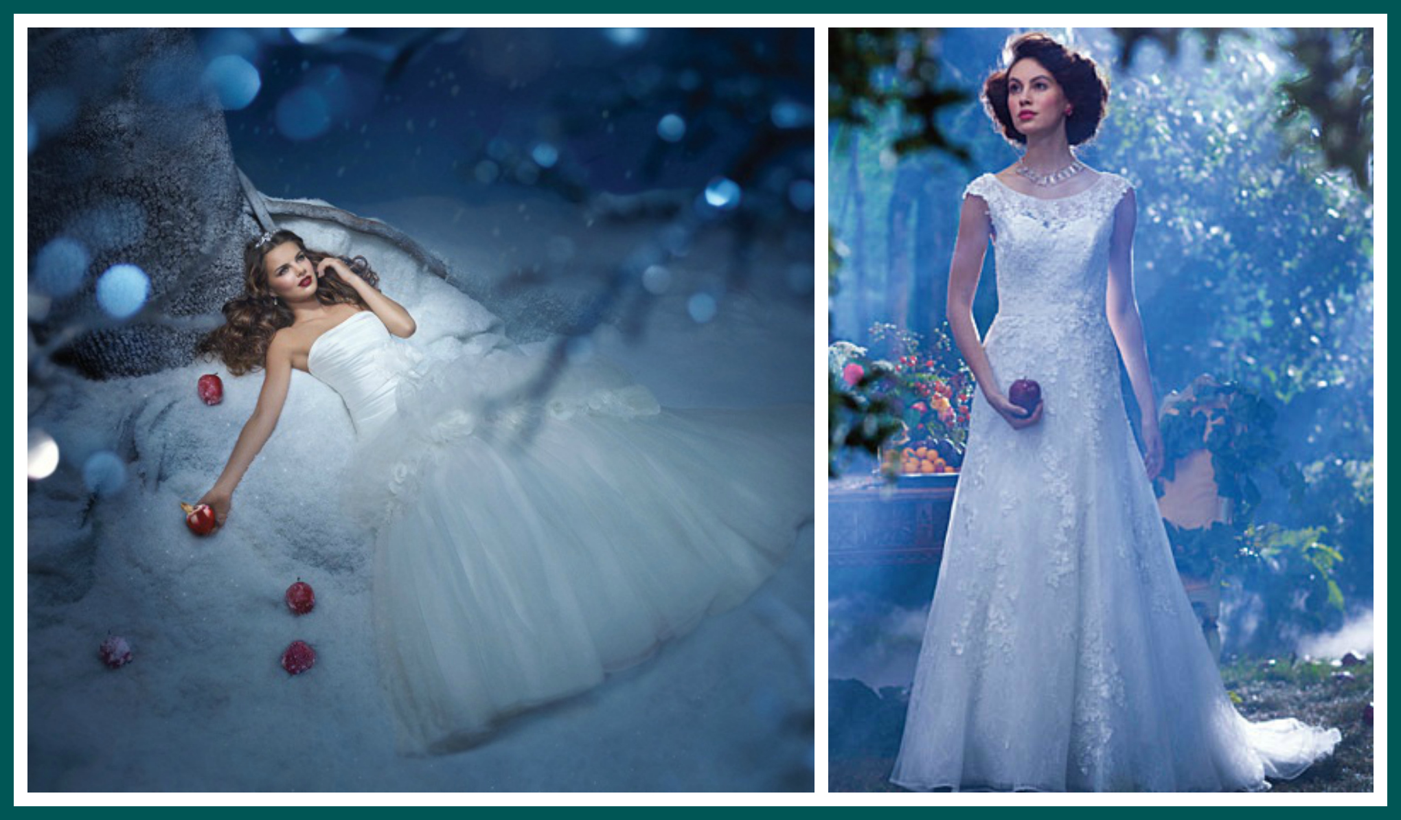 Some Dresses Are Worth Melting For: Disney Princess Wedding ...
