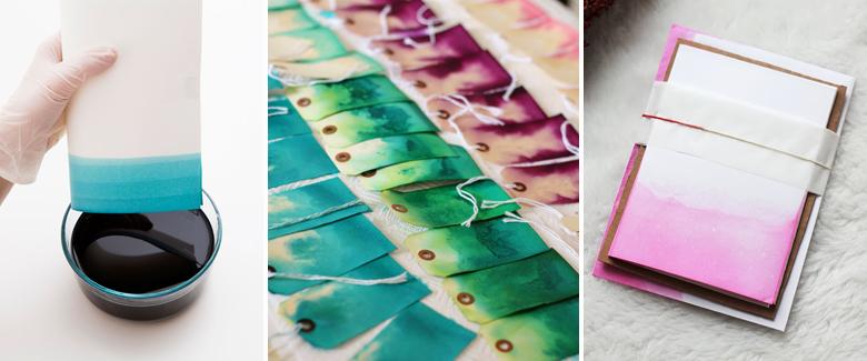 Paper dye