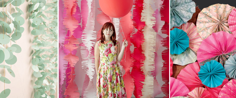 12 Insanely Clever DIY Photo Backdrop Ideas To Make With Paper