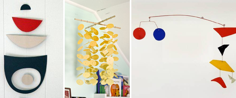 how to create a calder mobile