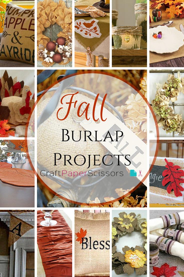 Burlap Crafts 70 Burlap Projects For Every Season Craft Paper Scissors