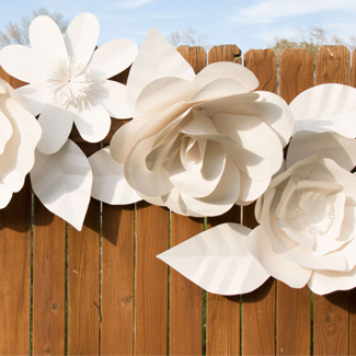 20 diy wedding decor ideas for the paper crafter craft paper scissors diy fringed scalloped backdrop these grey scallops are simple and elegant create these fun scallops in any color to match your wedding decor mightylinksfo