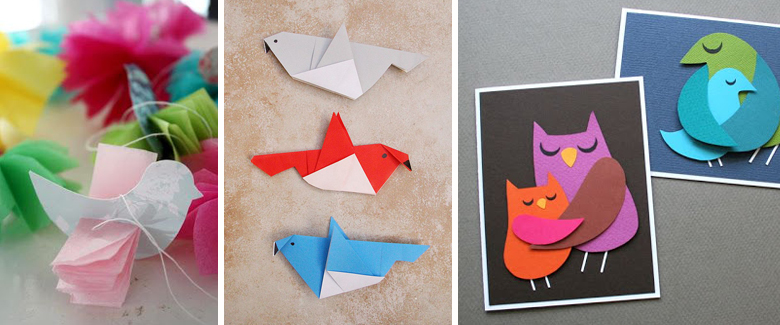 For The Birds 20 Paper Craft Tutorials To Tweet About Craft Paper