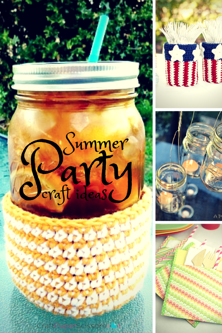 summer party ideas 20 simple diy party decorations more craft