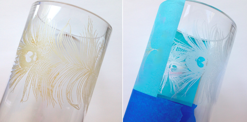 glass etching silkscreen lisa fulmer