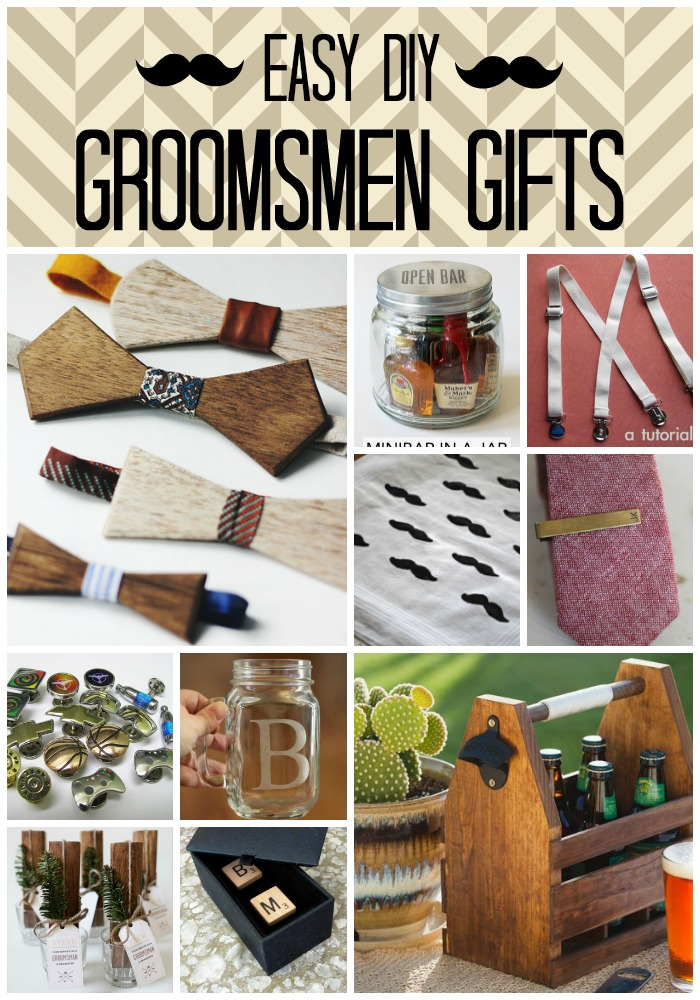10 Seriously Easy & Stylish DIY Groomsmen Gifts - Craft Paper Scissors