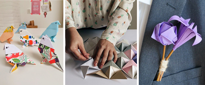 20 Fun Folded Origami Projects Craft Paper Scissors