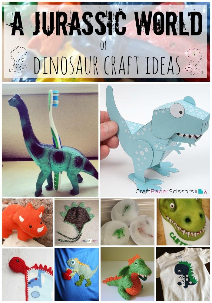 Summer Blockbusters: A Jurassic World of Dinosaur Crafts - Craft ...