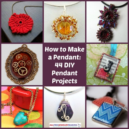 How to make a necklace 20 diy pendant tutorials you can do for more great pendants tutorials check out our collection how to make a pendant 44 diy pendant projects adding a pendant to a chain cord mozeypictures Images