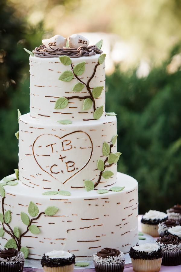 Fall wedding cake ideas craft paper scissors rustic wedding cake idea junglespirit Choice Image