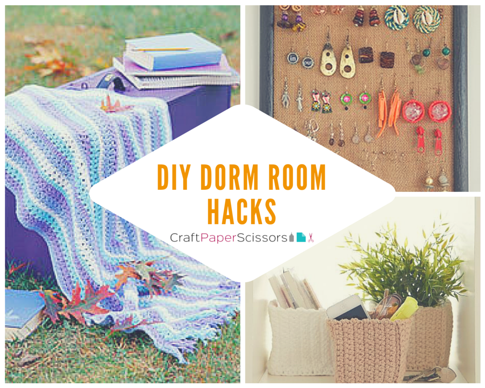 Dorm Room Hacks: 14 DIY Dorm Room Ideas Part 44