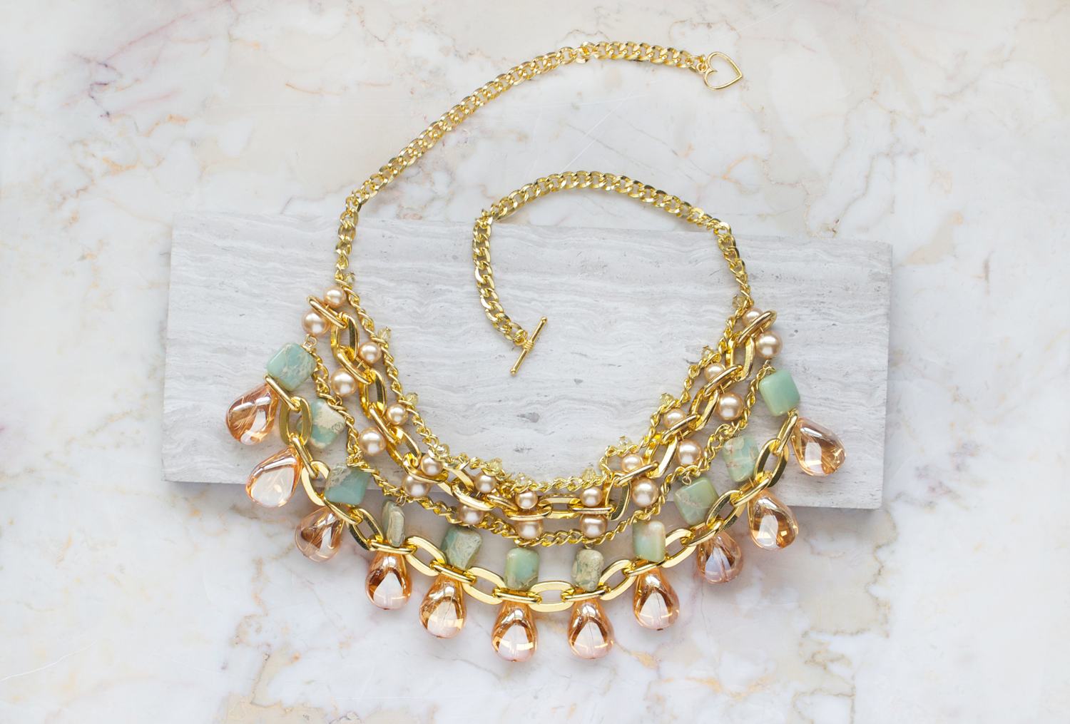 Sahara Statement DIY Necklace