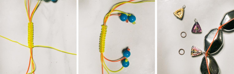 Miami Heat Neon DIY Necklace