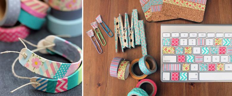 10 DIY Washi Tape Ideas