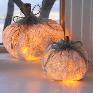 Paper Bag Pumpkin Luminary