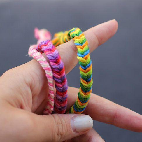 Effortless Fishtail Friendship Bracelets