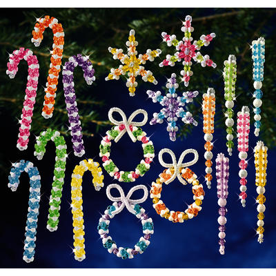 Holiday Beaded Ornament Kits