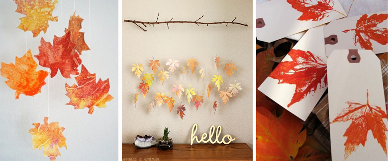 Autumn Leaf Paper Crafts
