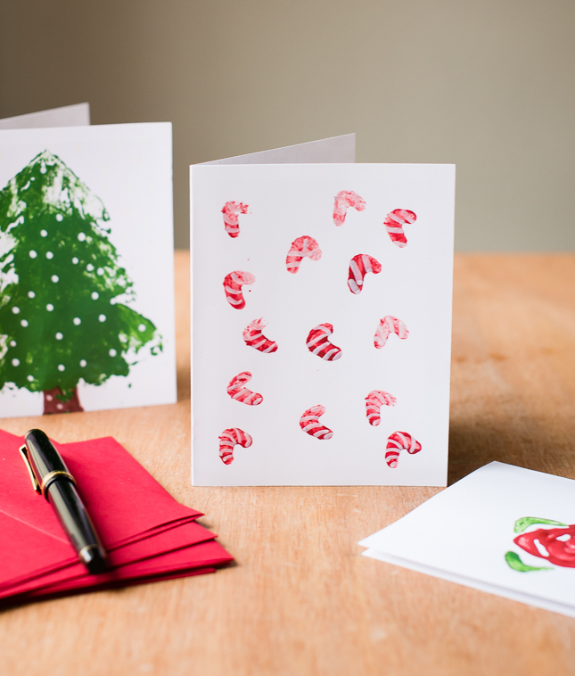 Scented & Stamped Holiday Cards