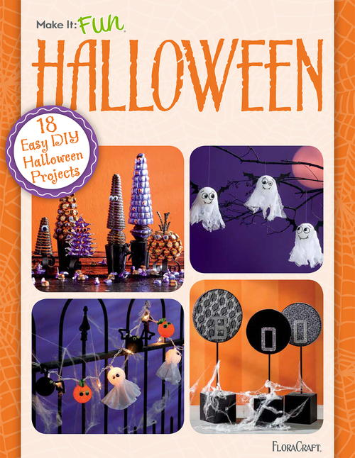 18 Easy DIY Halloween Projects: Free eBook from FloraCraft