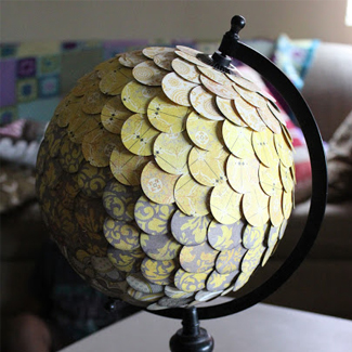 Thrifty Globe Upcycle Project