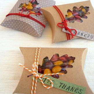 Thanksgiving Favor Box DIY