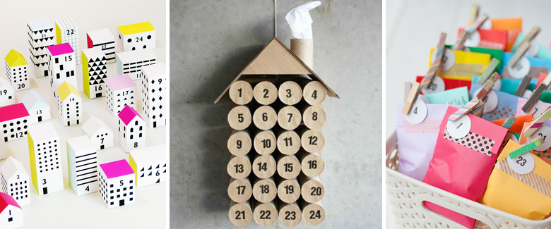 25 DIY Advent Calendars