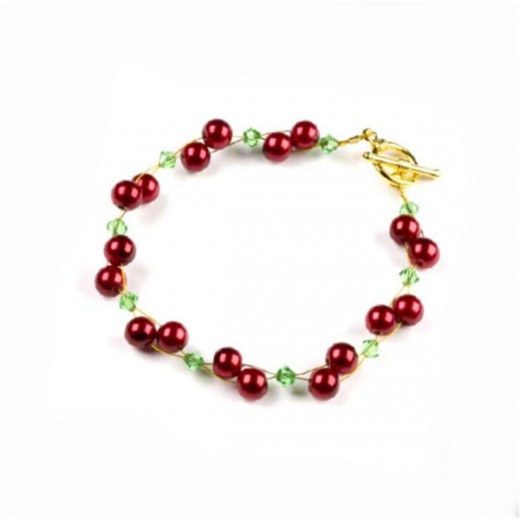 Christmas Berry Bracelet