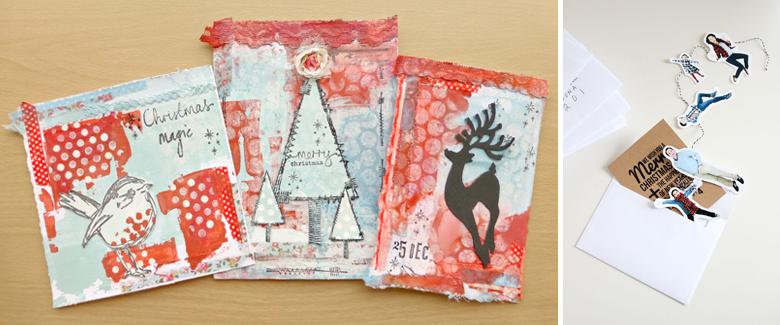 10 Unique Handmade Cards for Christmas