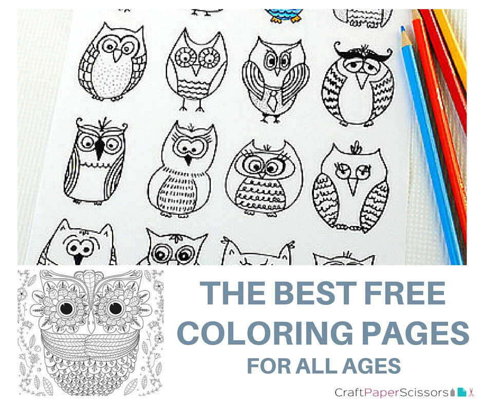 CPS - The BEST Free Coloring Pages for All Ages