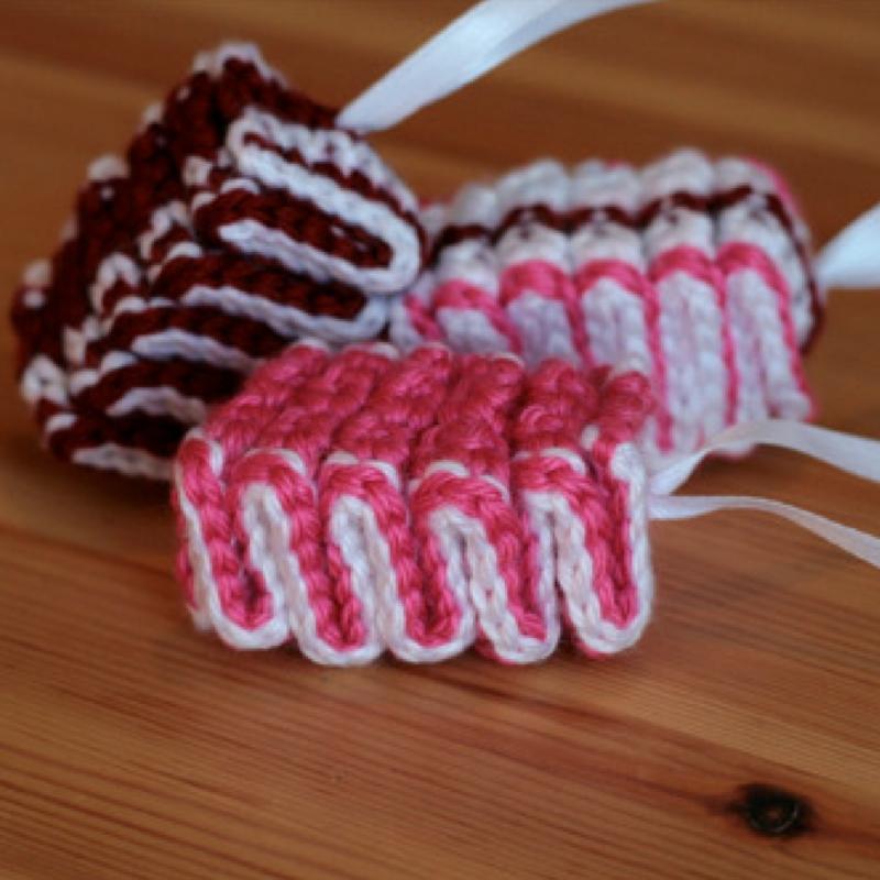 Crochet Ribbon Candy