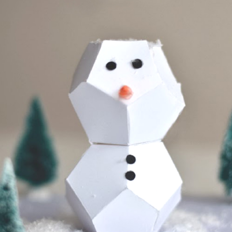 9 snow adorable snowmen crafts for kids craft paper for How to make winter crafts
