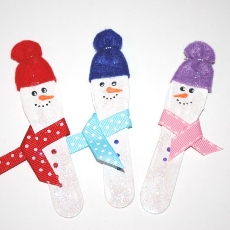 Craft Spoon Snowmen