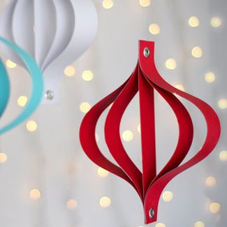 Modern Paper Ornaments