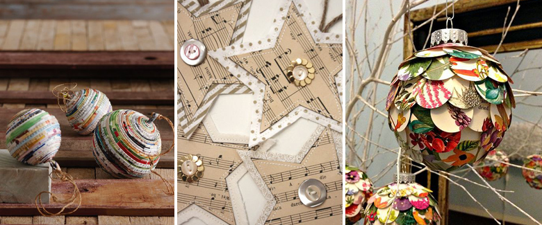 Paper DIY Ornaments to Make This Holiday Season