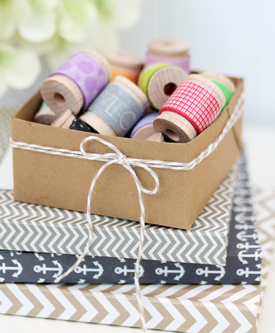 Simplest Little Box for Organizing Craft Supplies