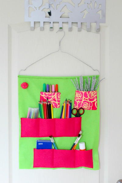 Craft Supplies Felt Organizer