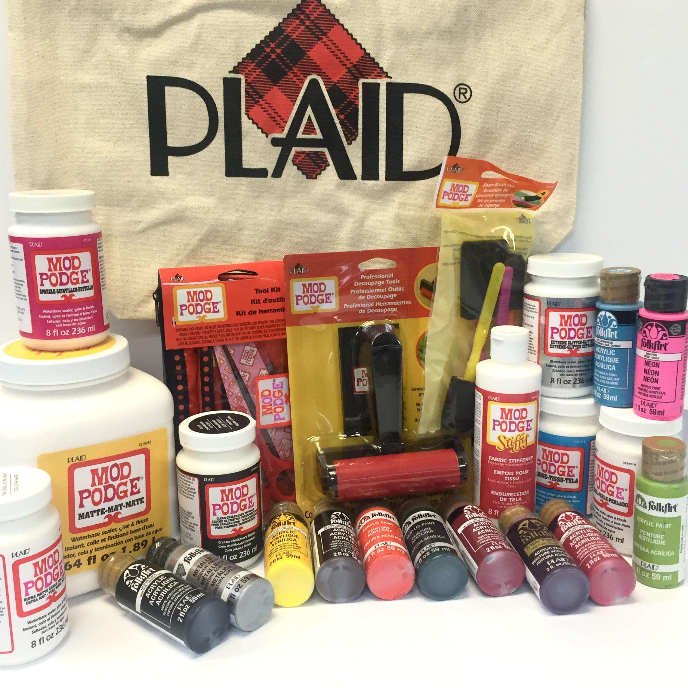 Plaid Enterprises 12 Days Giveaway