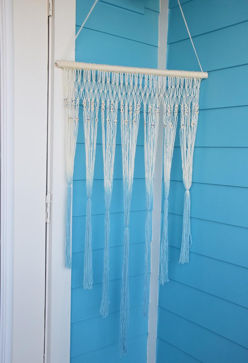 Magical DIY Macrame Wall Hanging