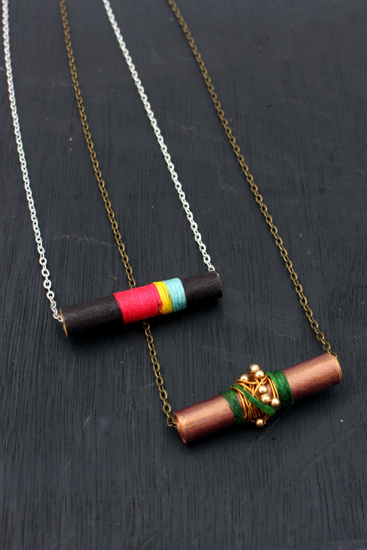 diy necklace id