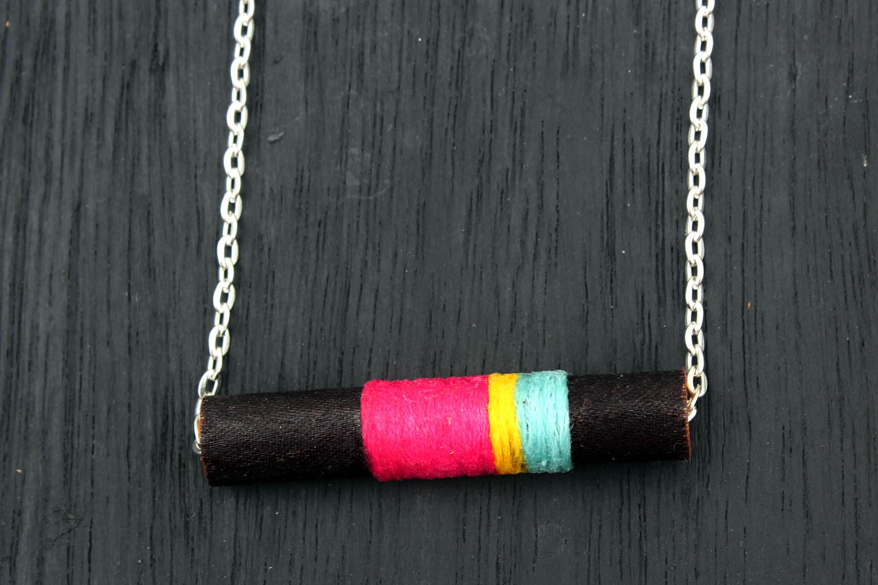 Cinnamon-Inspired DIY Necklace