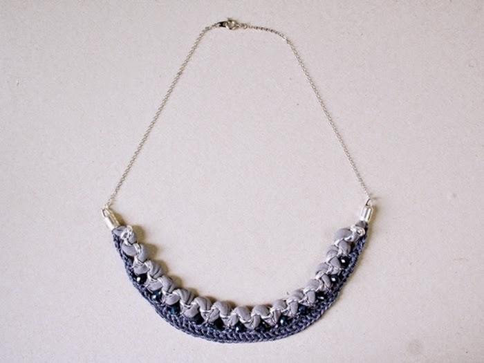 Crazy Cute Crochet Statement Necklace