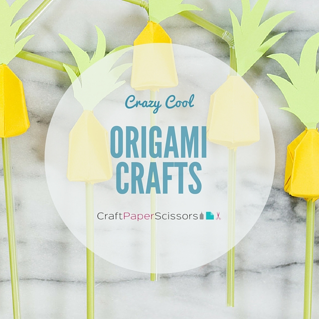 Crazy Cool Origami Crafts
