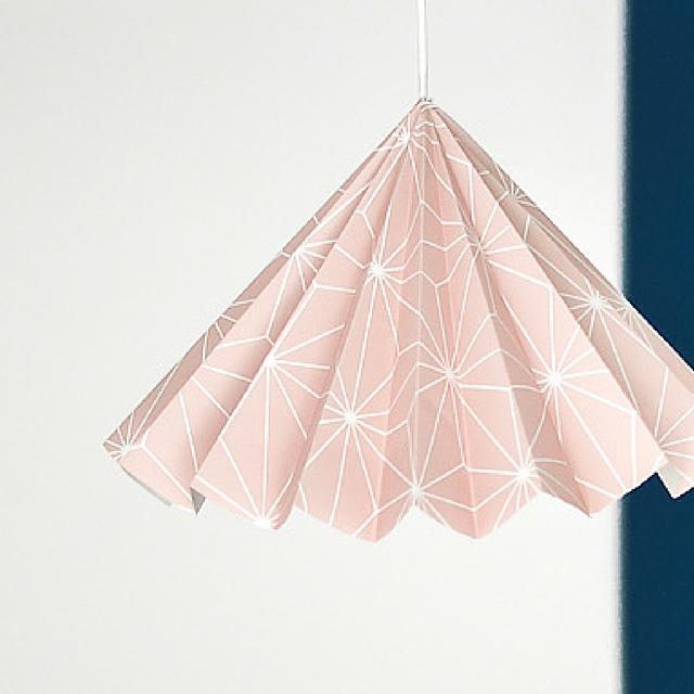 Origami DIY Lampshade