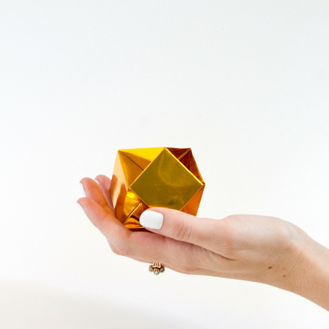 DIY Origami Gemstone