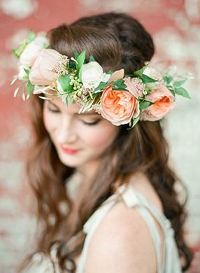 Beautifully Bohemian DIY Flower Crown